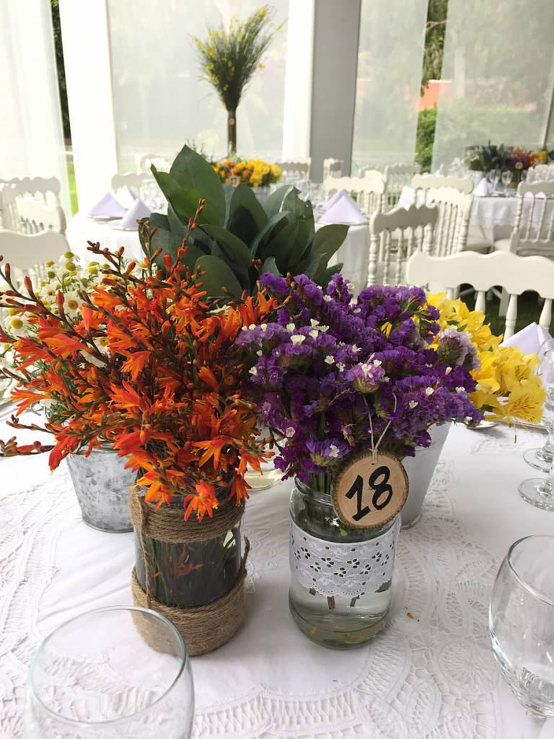 Five Centerpiece Ideas for your Wedding Reception #4