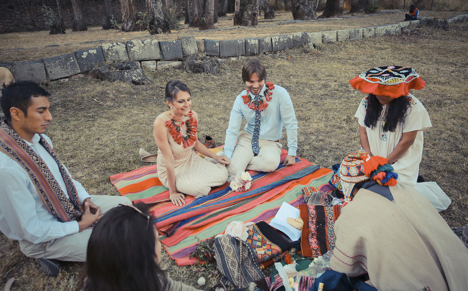tradittional wedding in cusco