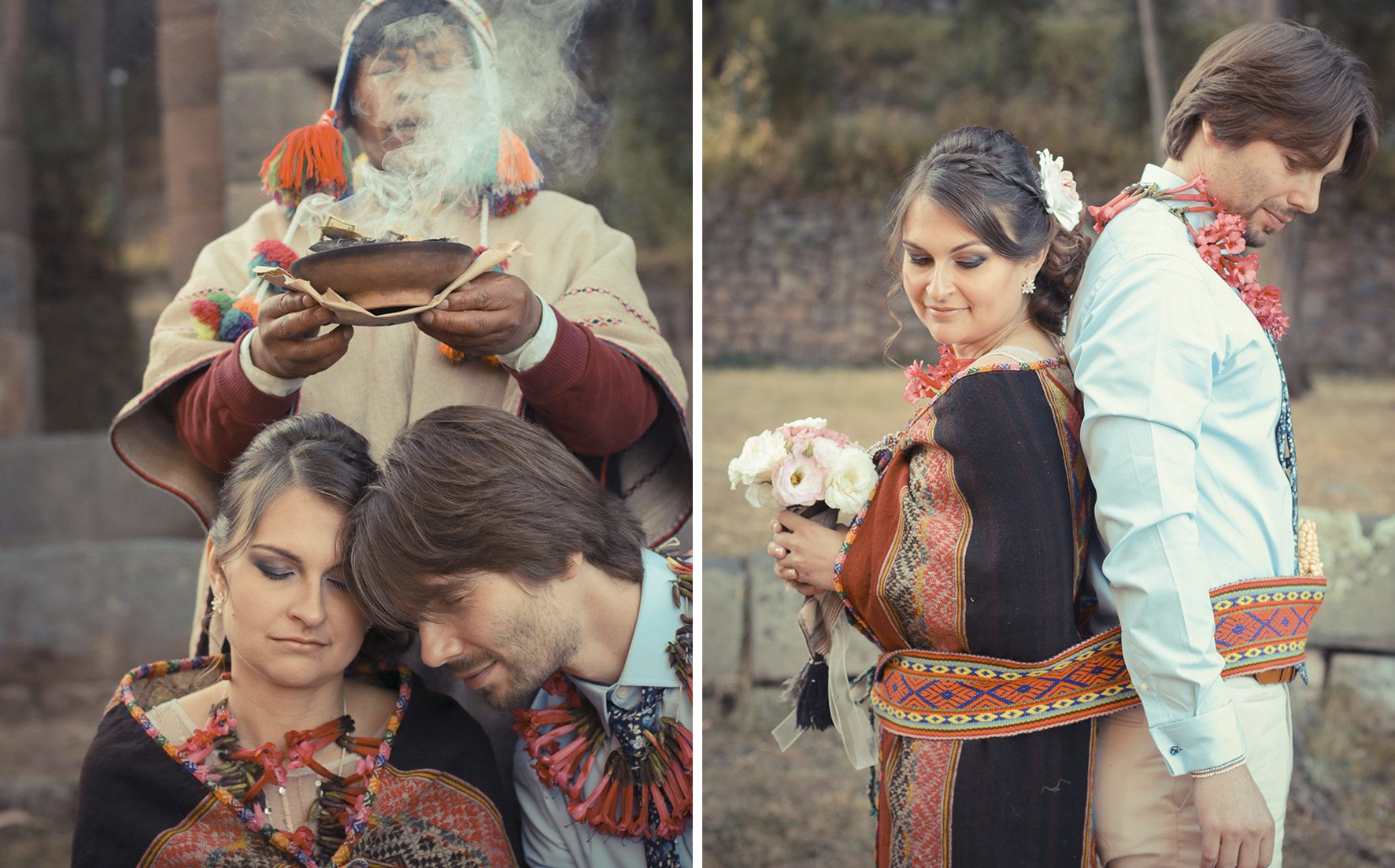 beautiful ceremony andean