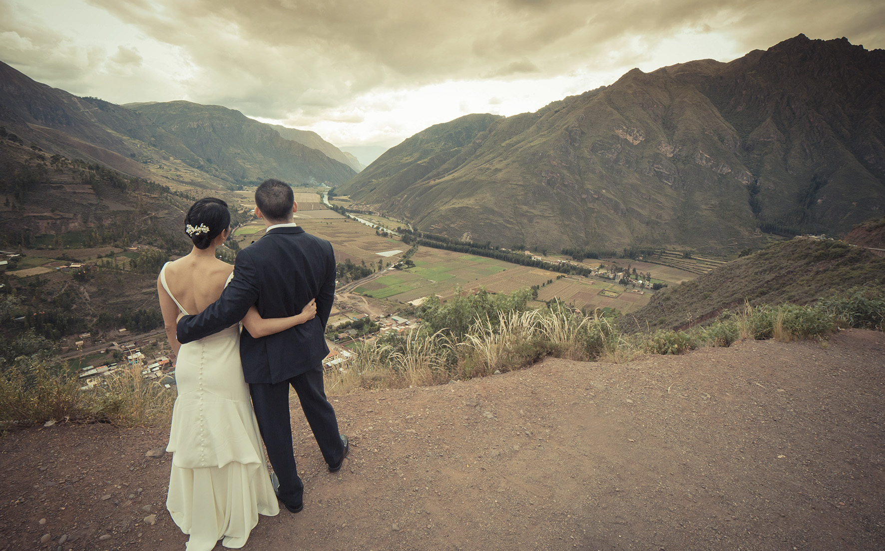 wedding in the sacred valley perfect