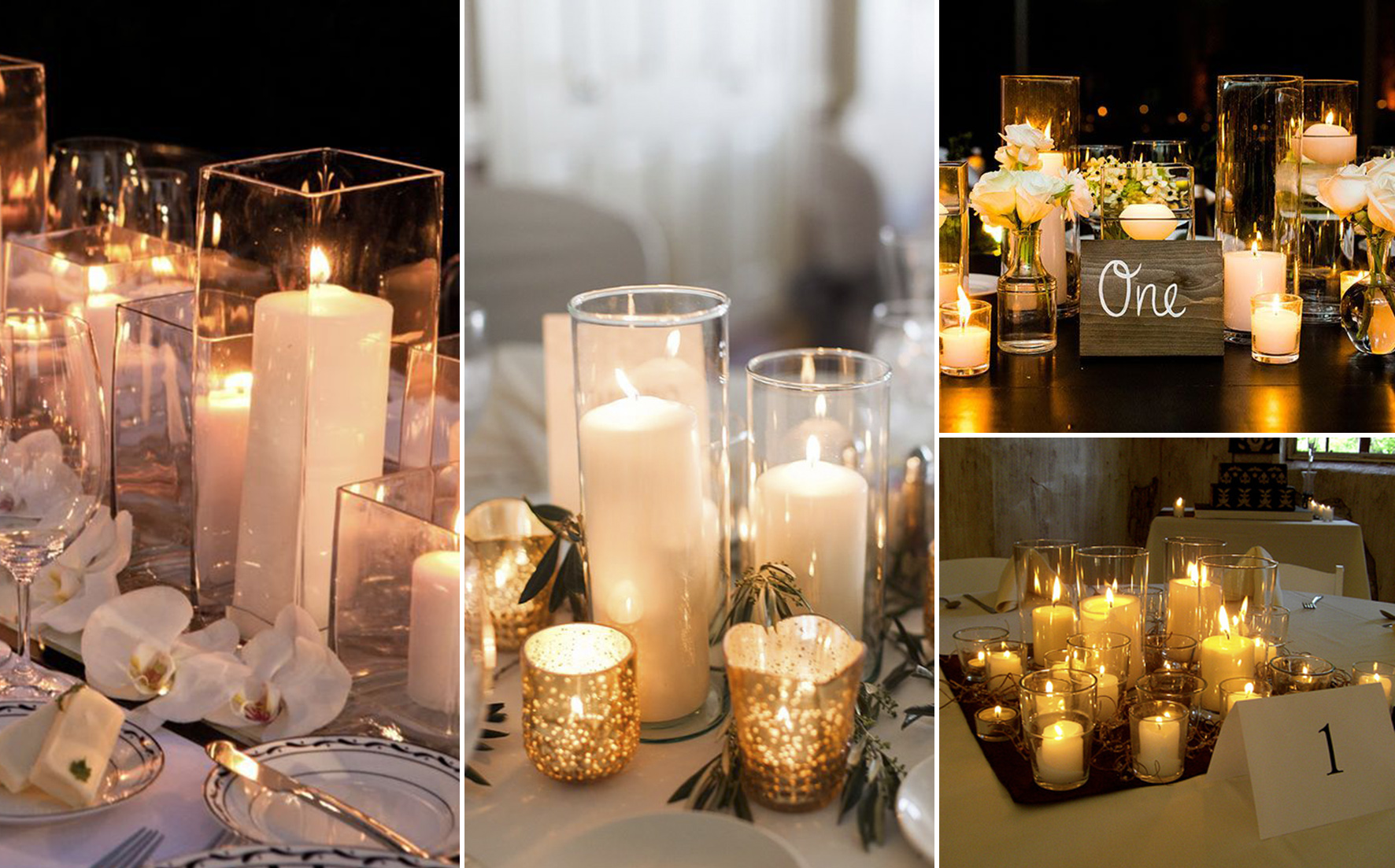 candle for weddings inspirations