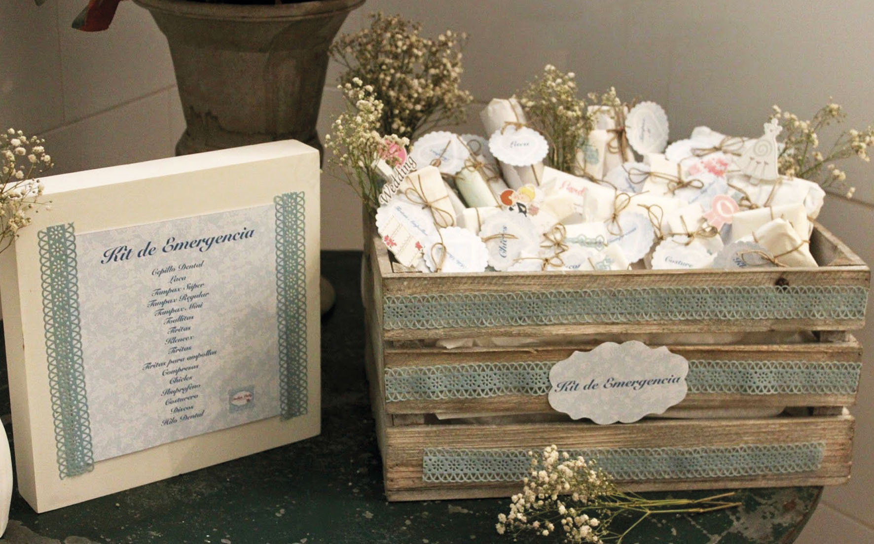 Wedding Bathroom Baskets