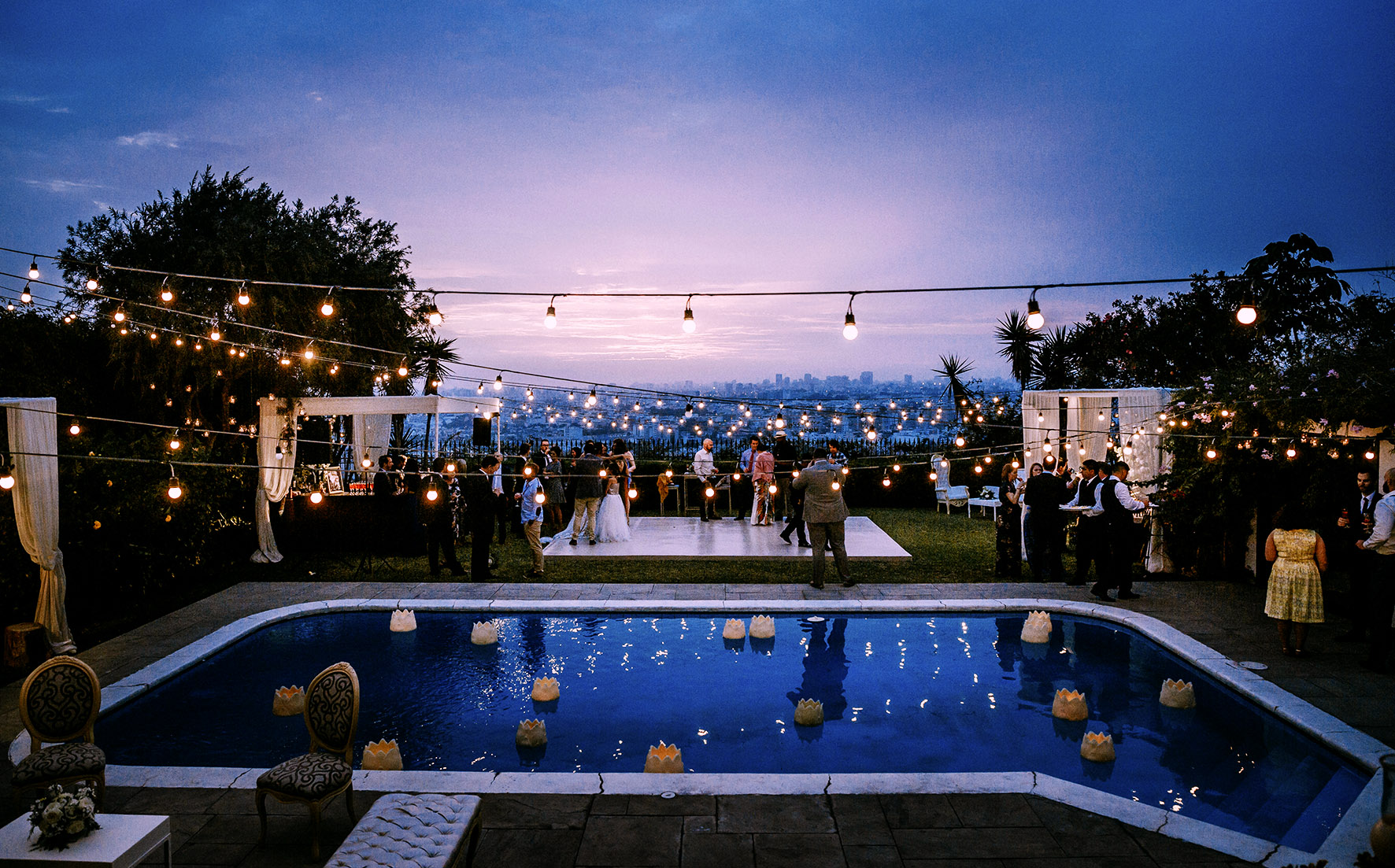 beautiful skyview for weddings