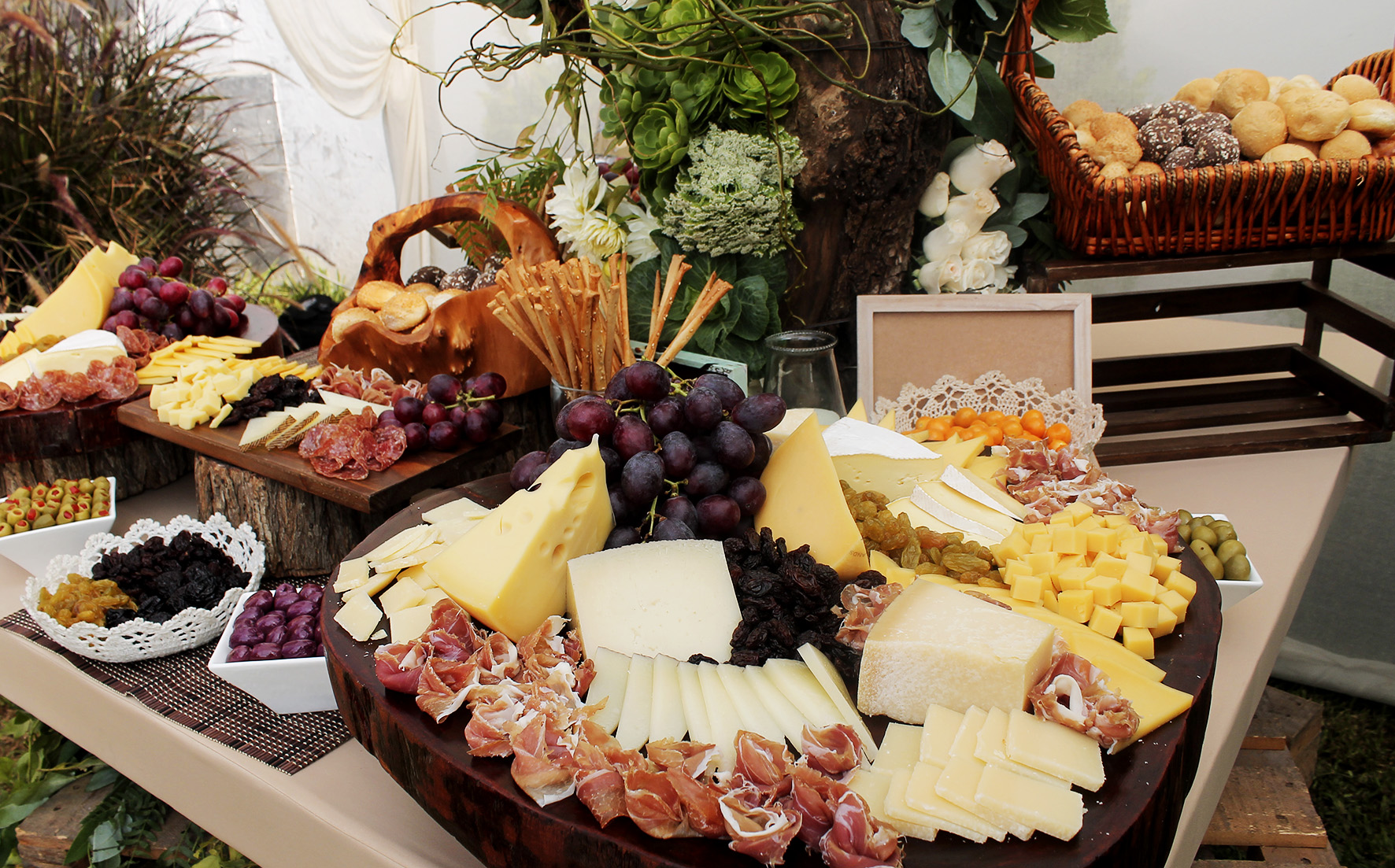 cheese table decoration