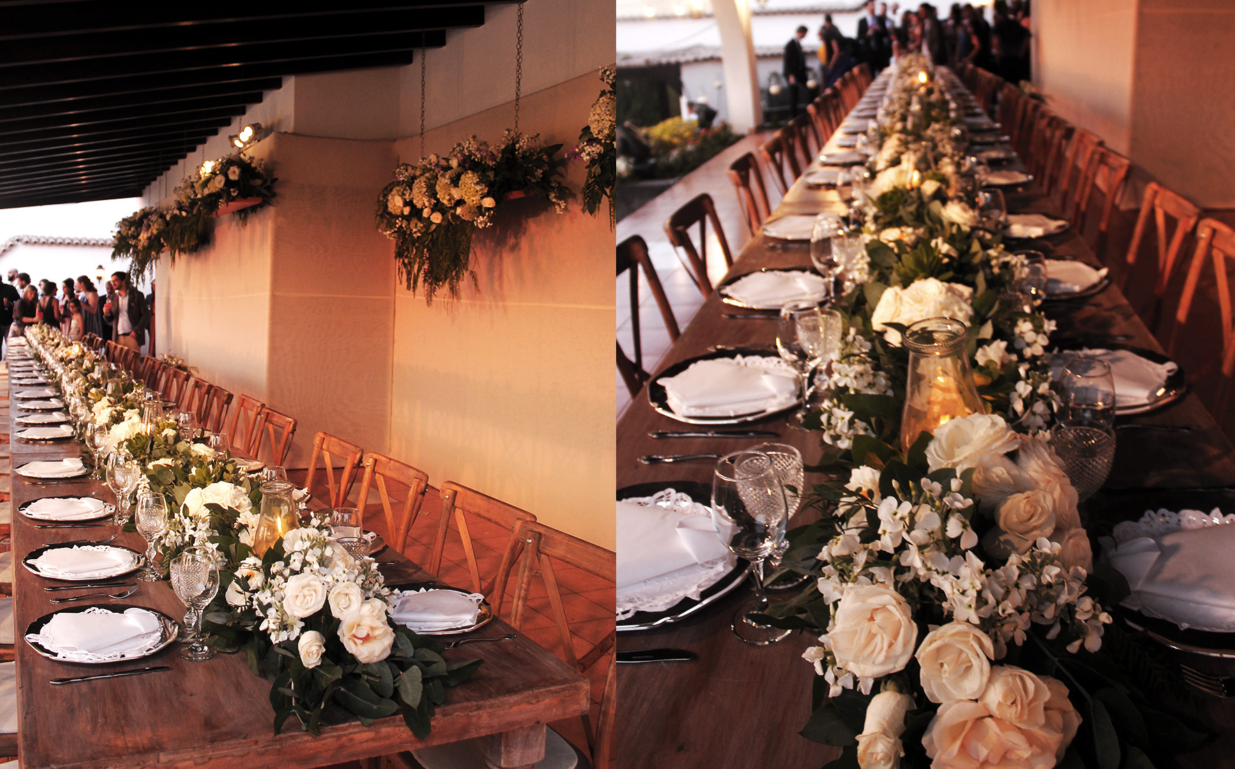 reception table decoration for wedding