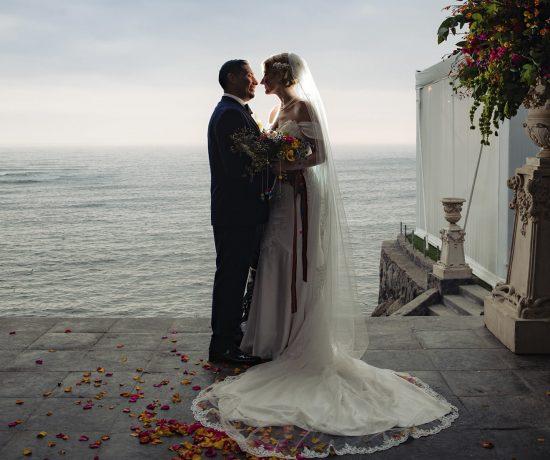 beautiful wedding on the beach