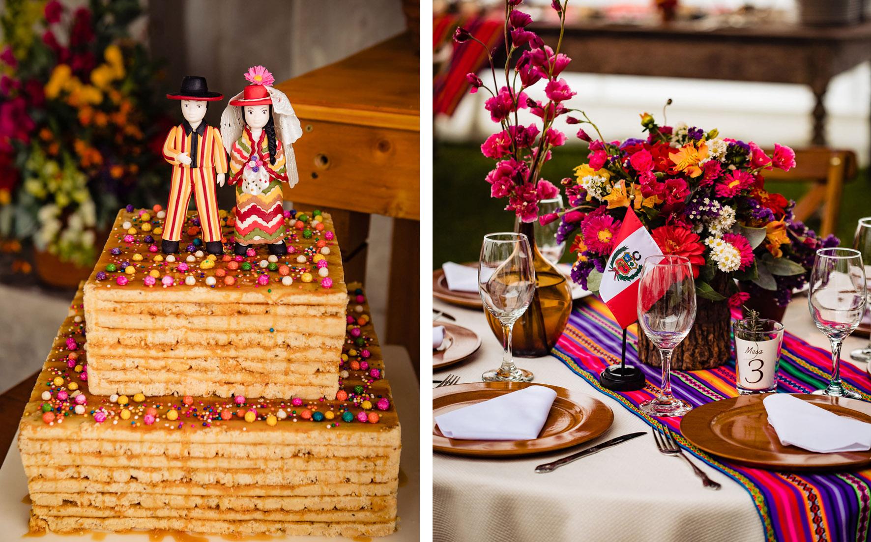 Peruvian Style Wedding Decoration