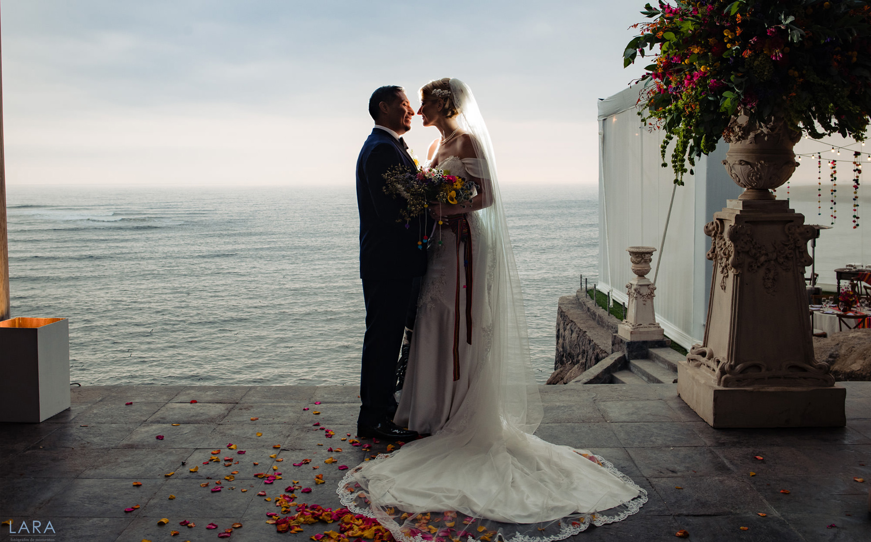 Peruvian Oceanfront Wedding