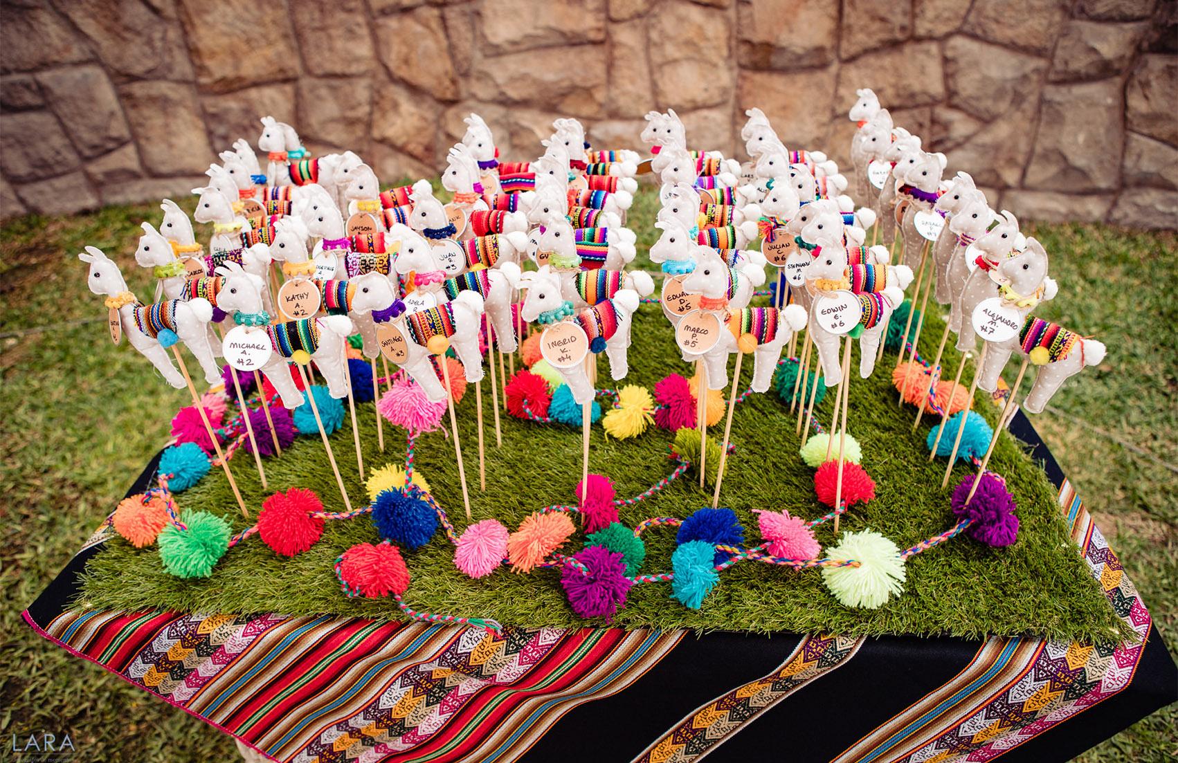Peruvian Style Wedding