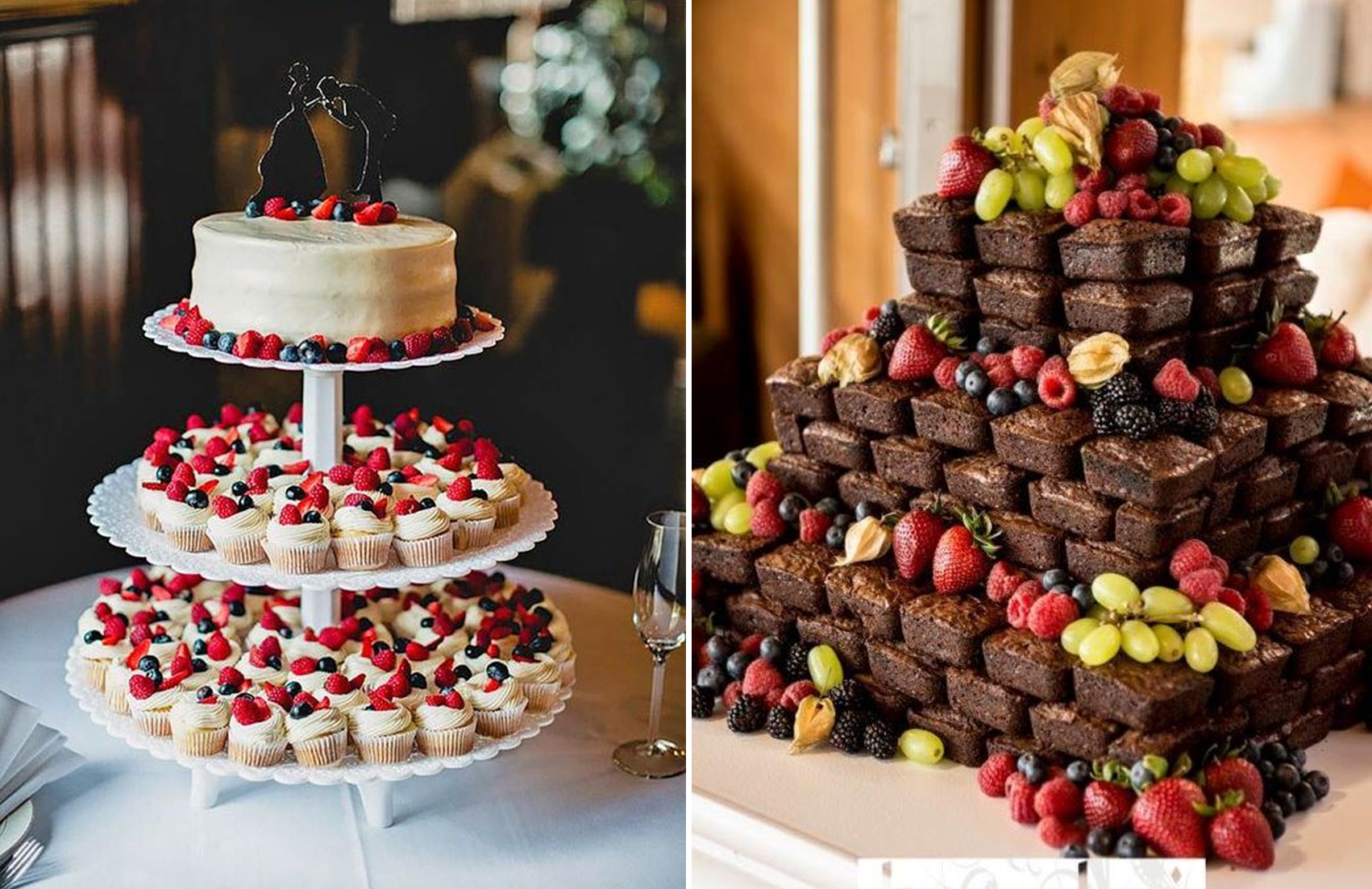 Alternative wedding cakes