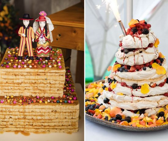Turron wedding cake
