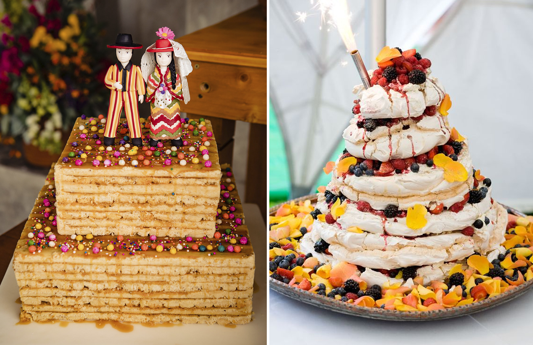 Turron wedding cake