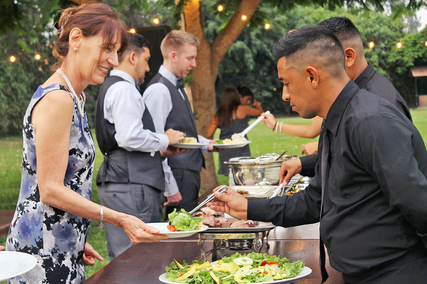 catering staf