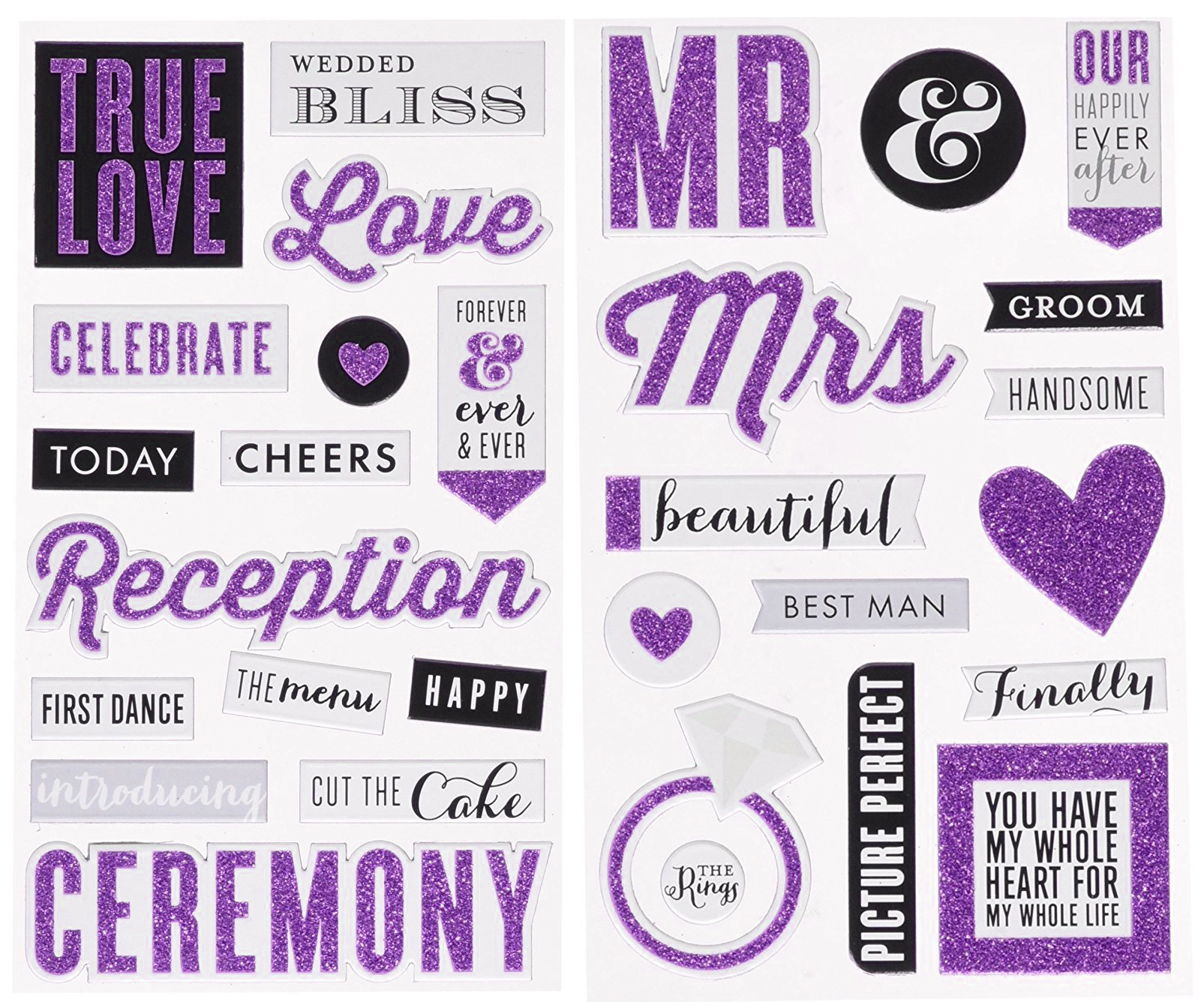 Wedding ideas stickers