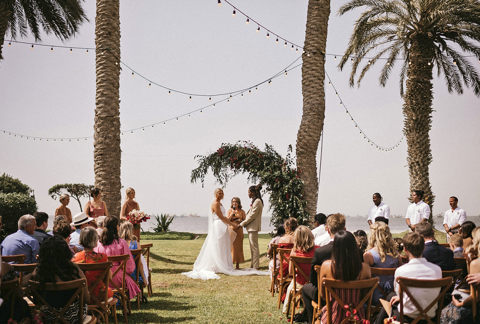 Wedding ceremony in paracas