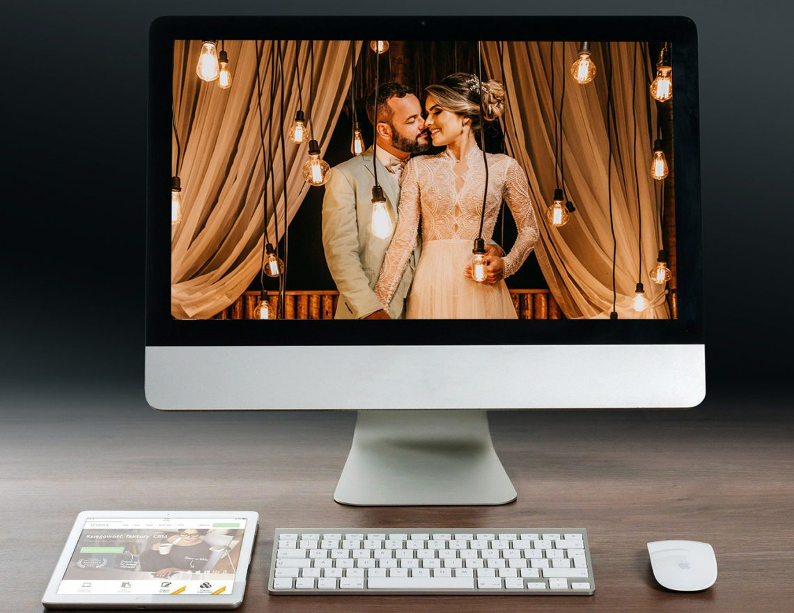 virtual wedding at home